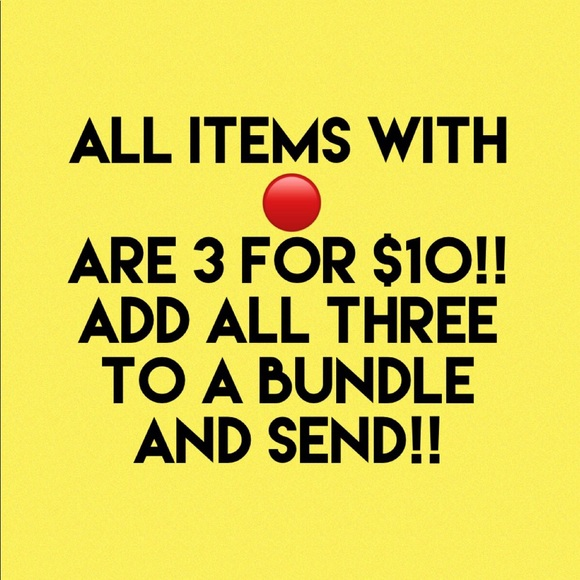 Other - 🔴 3 for $10